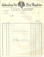 KREMLIN BICETRE  CALVADOS DU PERE MAGLOIRE   4.03.1948 - Alimentaire