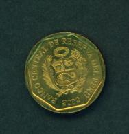 PERU - 2002  5c  Circ. - Peru