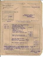 Ste FOY LA GRANDE  HENRI DUROUX & Cie   20.12.1948   2 Pages - Alimentaire