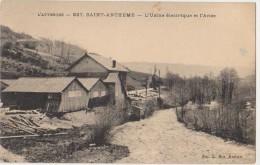 CPA 63 SAINT ANTHEME Usine Electrique Et L'Anse 1942 - Issoire