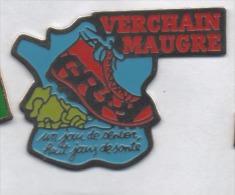 Ville De Verchain Maugré , Marche , Chaussure , Nord - Cities