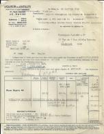 LE HAVRE  LIQUEUR DES ANTILLES       30.01.1948 - Alimentaire