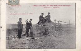 REGNY (Loire) : Compagnie Générale Des Mines D'Anthracite Du Roannais - Mijnen