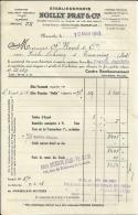 MARSEILLE  Etablissements NOILLY PRAT & Cie        10.03.1948 - Alimentaire