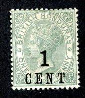2624x)  Br.Honduras 1891 - SG #36 / Sc #47  M* - British Honduras (...-1970)