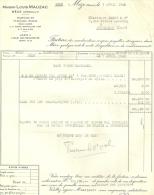 MEZE HERAULT   MAISON LOUIS MAUZAC            9.04.1948 - Alimentaire