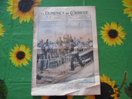 WW2 LA DOMENICA DEL CORRIERE N.49 1943 BASE DEL DODECANNESO FLOTTIGLIA MAS LIBANO INSURREZIONE - Libri, Riviste, Fumetti