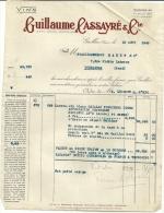 GAILLAC  GUILLAUME CASSAYRE & Cie  Vins        18.08.1948 - Alimentaire