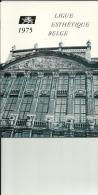 LIGUE ESTHETIQUE BELGE  1975 - Sports & Tourisme