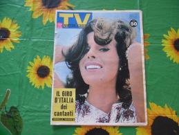 TV SORRISI E CANZONI 1962 ORNELLA VANONI FRANK SINATRA SOPHIA LOREN - Libri, Riviste, Fumetti