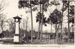 SOUGE - L' Horloge De L' Entrée Du Camp Militaire     (60893) - France