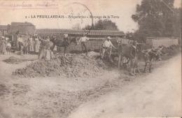 La Feuillardais (44) Briqueteries - Broyage De La Terre - La Montagne