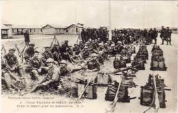 SOUGE - Avant Le Départ Pour Les Manoeuvres -  Camp Militaire     (60898) - France