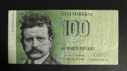 Finland - 100 Markkaa - 1986 - P 115a - VF+ - Look Scan - Finnland