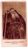 Santino Nuovo Fustellato CARDINALE GUGLIELMO MASSAIA - Ristampa Tipografica Da Santino Antico - PERFETTO F42 - Religione & Esoterismo