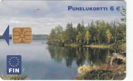 FINLAND - Landscape, FIN Telecard 6 Euro, Tirage 75000, 09/04, Used - Landschaften