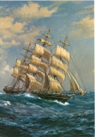 Shipping Postcard - The Cutty Sark   CC979 - Sailing Vessels