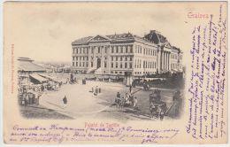 18981g CRAIOVA - Palatul De Justitie - 1904 - Roumanie