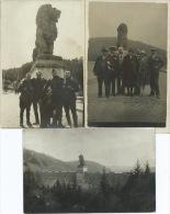 Barrage De La Gileppe - 3 Cartes Photos - Gileppe (Barrage)
