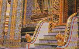 Thailand Bangkok Thai Design Ornamentation Emerald Buddha Temple