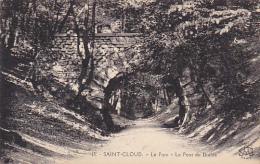 France Saint Cloud Le Parc Le Pont du Diable