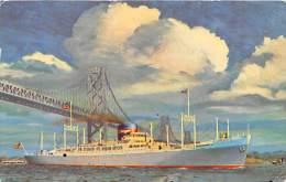 5537 S.S. President Polk  American President Lines - Steamers