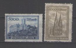GERMANIA  REICK          MINT        N. CAT. SCOTT    237/38 - Germany