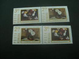 F5781- Double Set In Pair MNh Romanai 1975- SC. 2545-2546- Cultural Economic Cooperation - Nuevos