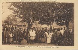 DAHOMEY - (animé) ZAGNANADO - En Excursion à SAGON SUR OUEME - Nr 4 Lescuyer à Lyon - D21 4 - Dahomey