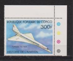 Republique Populaire Du Congo Tupolev Neuf - Concorde