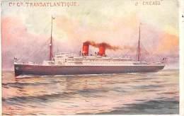 5698   S.S. Chicago, C. G. Transatlantique Line - Steamers