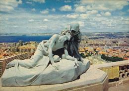 France Marseille Notre-Dame-De-La-Garde Le Crist et sainte Veron