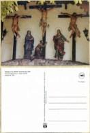 Ak Deutschland - Abenberg - Stillakirche,church ,Eglise - Kreuzigungsgruppe - Jungfräuliche Marie Und Madona
