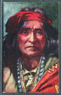 US Native American Navajo Red Indian Chief Thunderbird - Ethnics