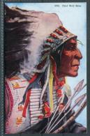 US Native American -  Chief Wolf Robe - Ethnics