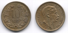 Luxemburg : 10 Centimes 1901 - Luxembourg