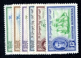 2675x)  Br Honduras 1949 - SG #166/71 / Sc # 131/36  M* - Honduras Britannique (...-1970)