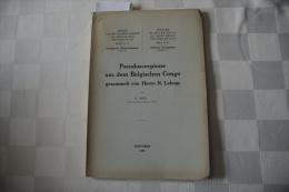 M Beier : Pseudoscorpione Aus Dem Belgischen Congo Gesammelt Von Herrn N Leleup - Livres, BD, Revues