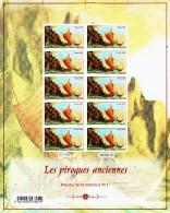 Polynésie 2013 Les Pirogues Anciennes ( Feuilles Complètes ) - Ungebraucht
