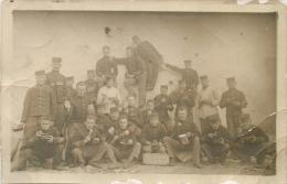 HABAY LA NEUVE CARTE PHOTO MILITAIRE 1908 - Habay