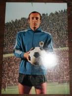 CARTE POSTALE COUPE DU MONDE DE FOOTBALL MEXICO 70 1970 HORST WOLTER  EQUIPE ALLEMANDE - Soccer