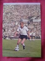 CARTE POSTALE COUPE DU MONDE DE FOOTBALL MEXICO 70 1970 SIEGFRIED HELD BORUSSIA DORTMUND - Football