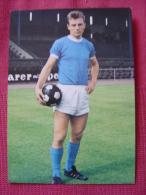 CARTE POSTALE COUPE DU MONDE DE FOOTBALL MEXICO 70 1970 REINHARD LIBUDA FC SCHALKE 04 - Football