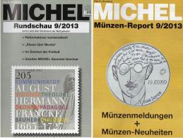 Briefmarken Rundschau MICHEL 9/2013 Neu 5€ New Stamps Of The World Catalogue Magacine Of Germany ISBN 4 194371 105009 - Allemand
