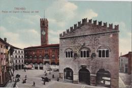 TREVISO - PIAZZA DEI SIGNORI E PALAZZO DEL 300  VG 1915 AUTENTICA 100% - Treviso