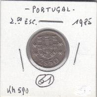 2 1/2 ESCUDO Cuivre-nickel 1985 - Portugal