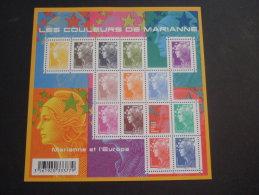 FRANCE 2009      MARIANNE ET L´EUROPE    MNH **   (1024600-1052) - Ideas Europeas