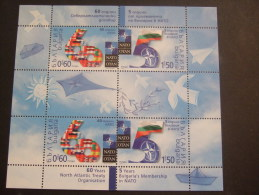 BULGARIA 2009  60TH ANNIVERSARY OF NATO    MNH **   (1024600-220) - Francia