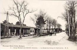 Camp Militaire De SOUGE - La Route Du Camp Et L' Infirmerie  (60904) - France