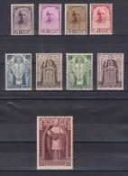 COB 342-350 * - Cardinal Mercier - Etat Impecable (voir Image) - Unused Stamps
